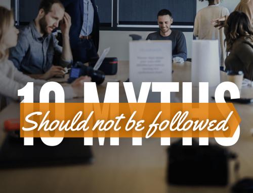 10 Myths should not be followed